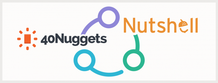 40nuggets integration nutshell crm