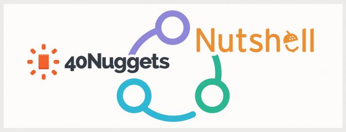 40nuggets integration nutshell crm