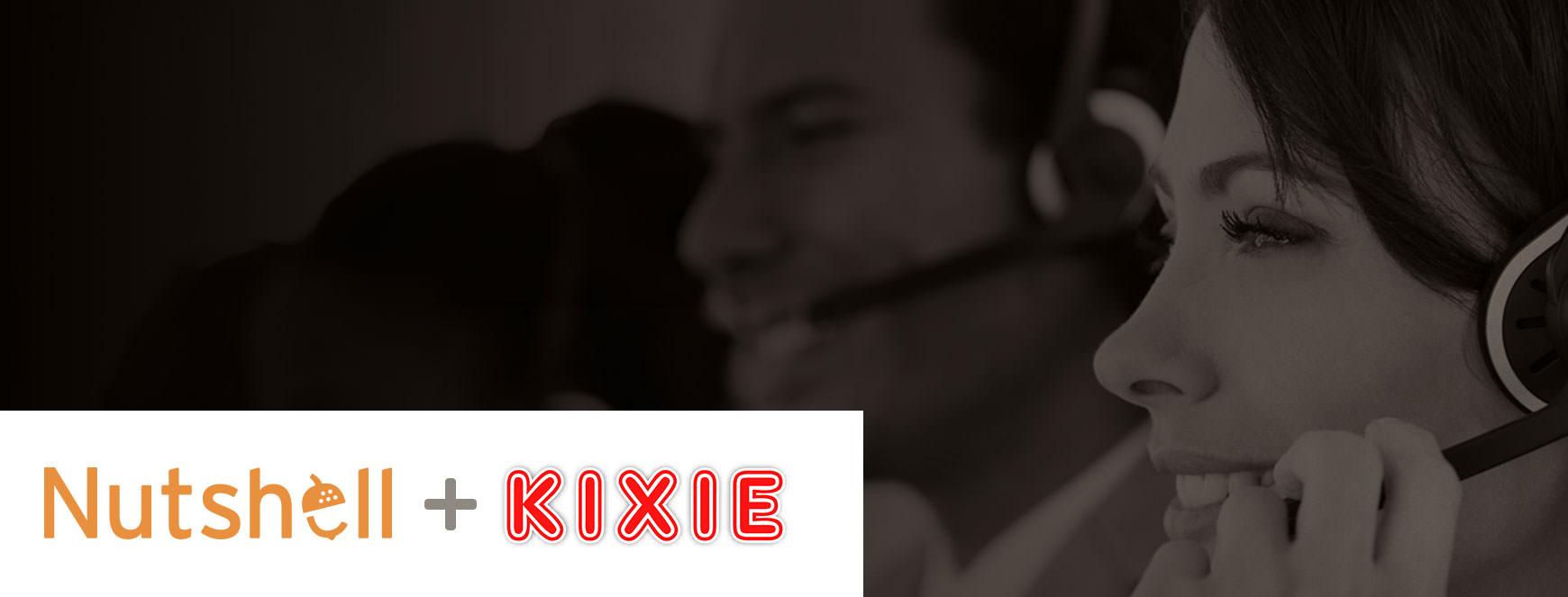 click to call kixie nutshell integration