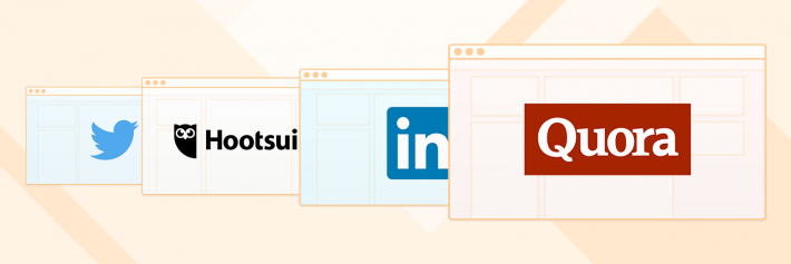 guide to social selling twitter hootsuite linkedin quora