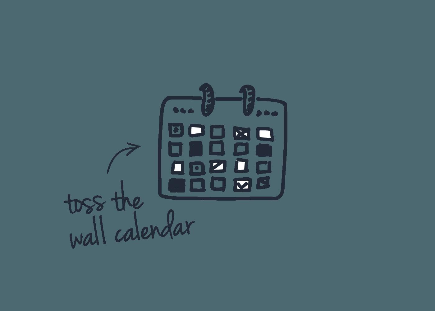 crm for sales reps calendar