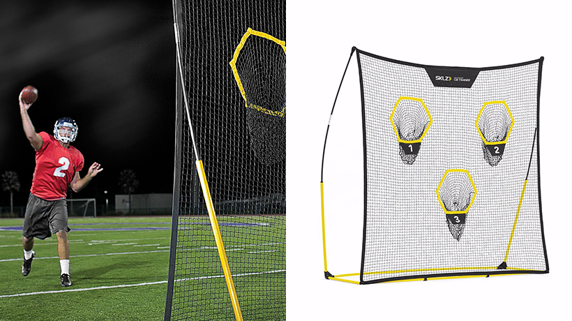 nutshell last-minute holiday gift guide sklz quickster qb trainer