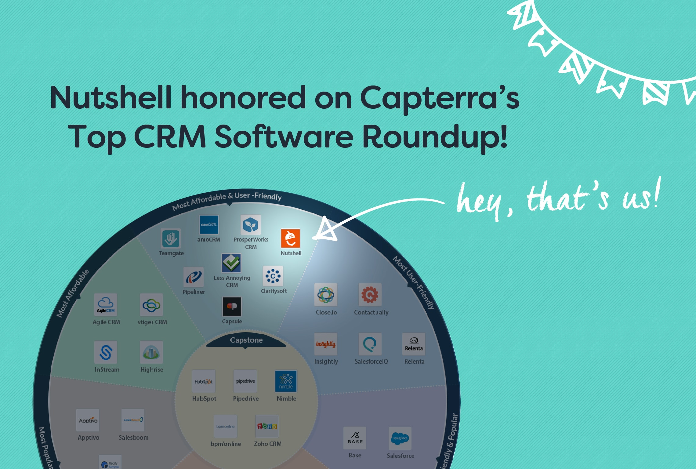 capterra top crm software infographic nutshell