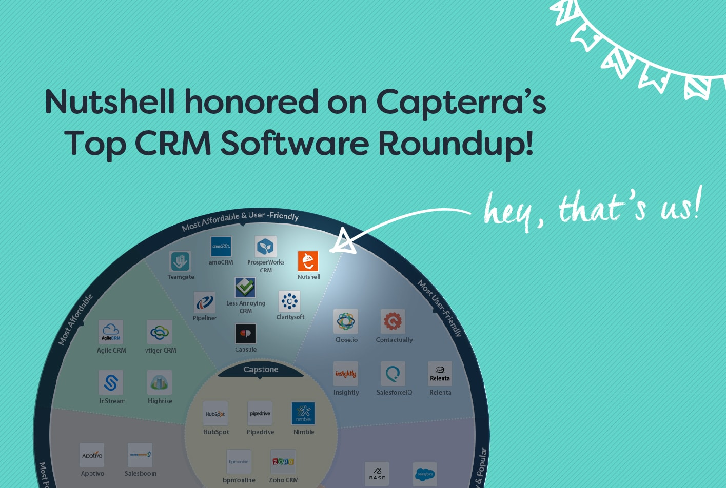 capterra top crm software infographic nutshell