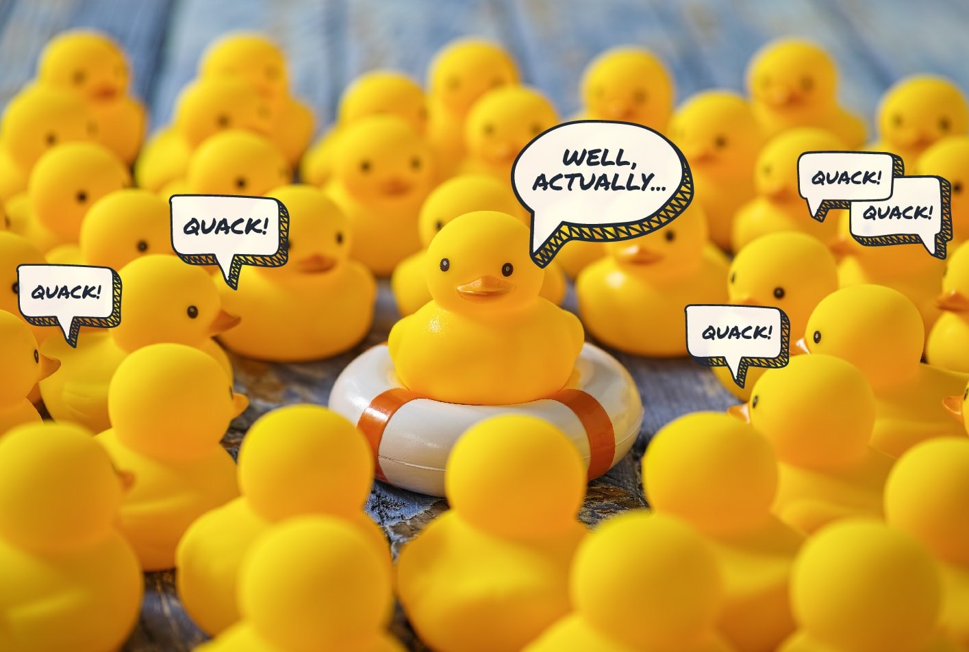 how can sales ops use crm yellow rubber ducks quacking