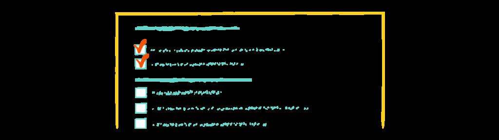 checklist sales process