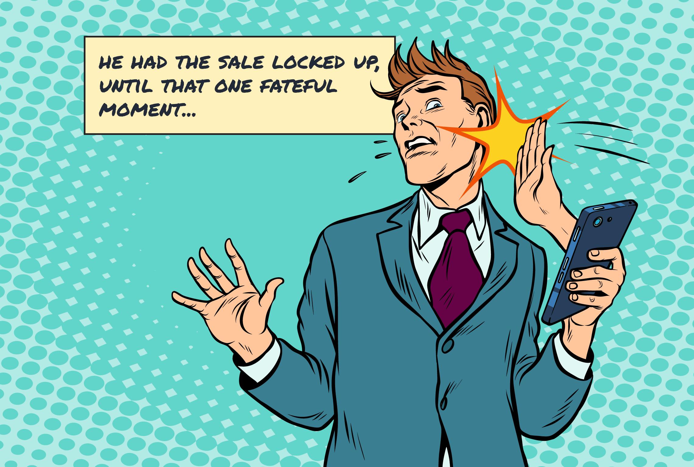 avoid the backfire effect when handling objections in sales