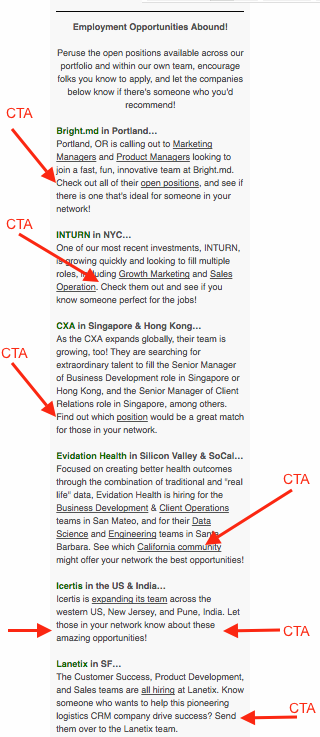 newsletter cta ctas how to build a newsletter