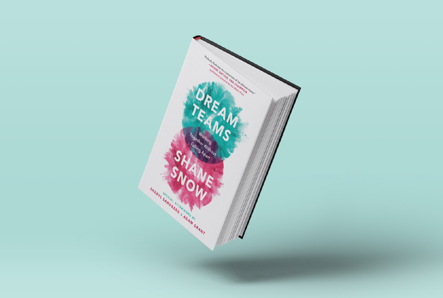 dream teams shane snow excerpt book cover