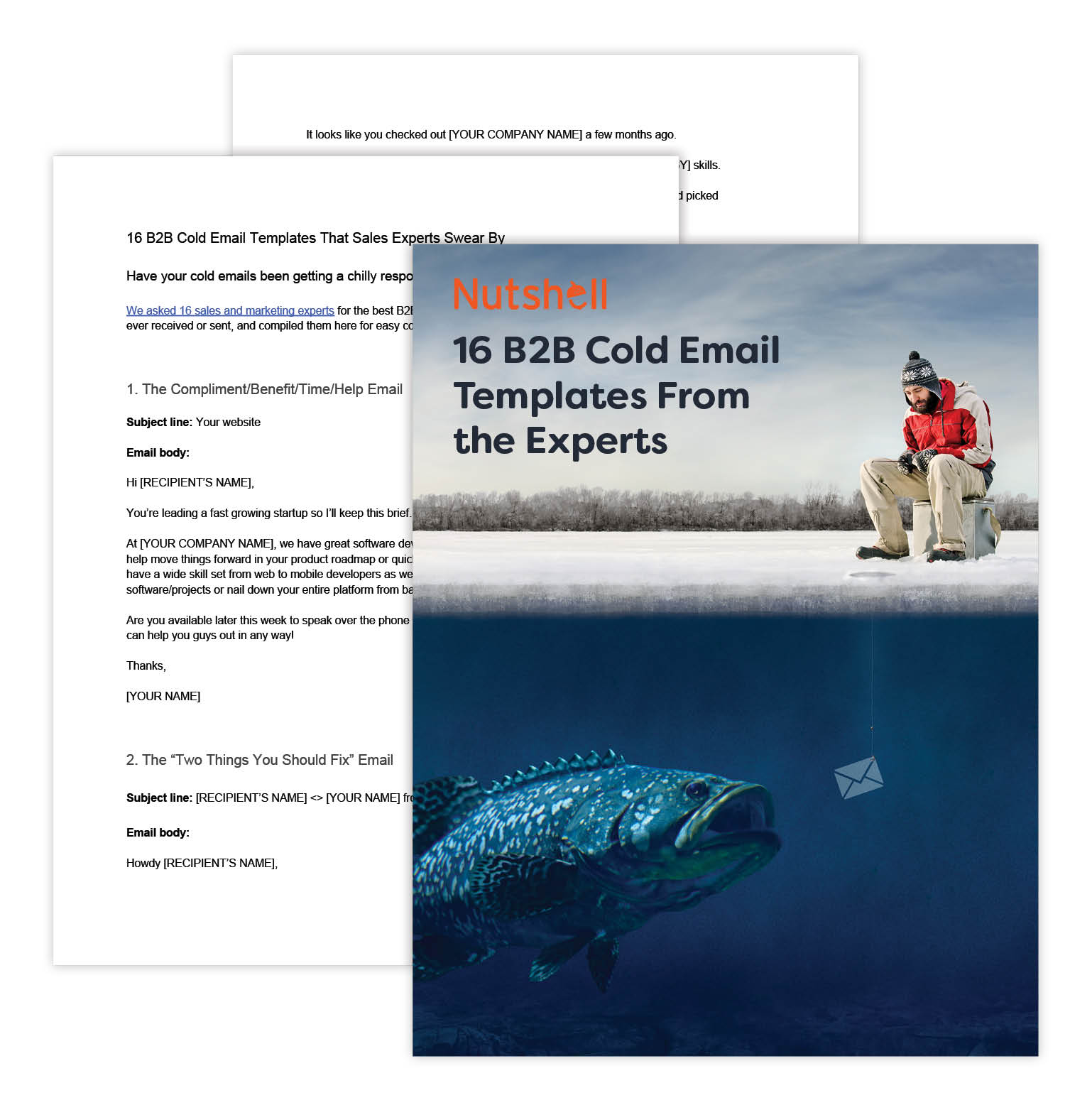 b2b cold email templates from sales experts