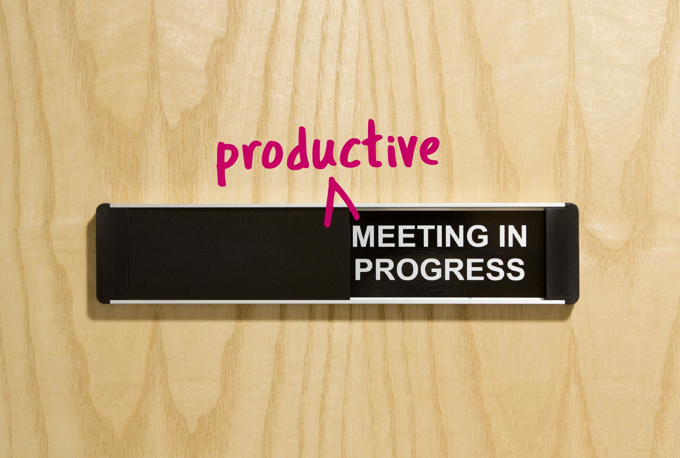 how to hold productive sales team meetings