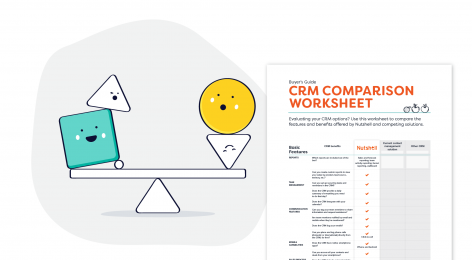 crm comparison worksheet