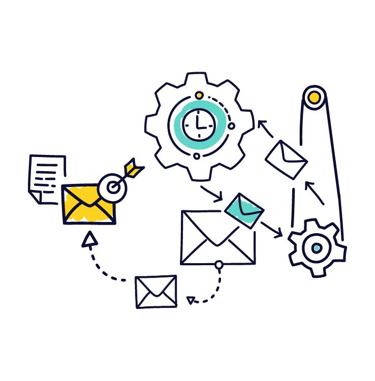 personal email sequences