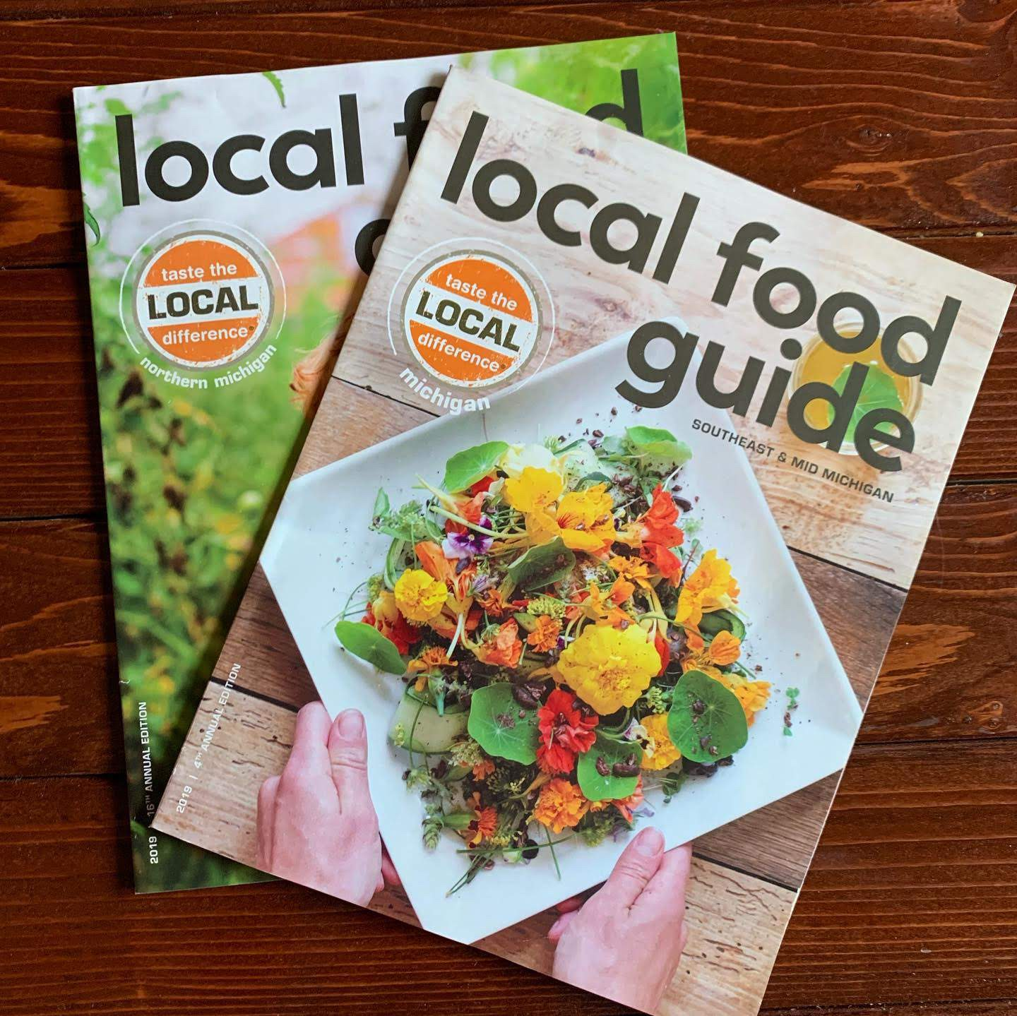 taste the local difference local food guide
