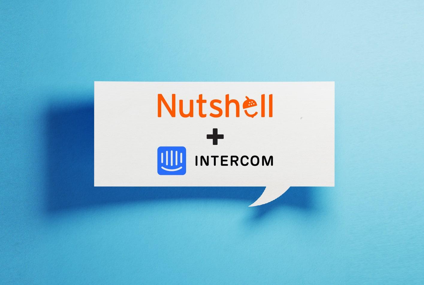 nutshell intercom integration crm web chat integration