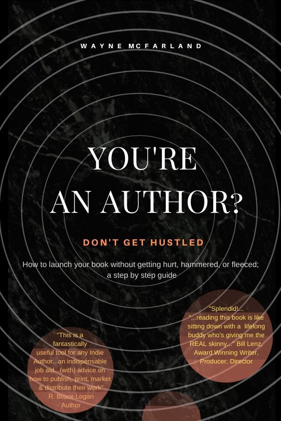 wayne mcfarland you're an author don't get hustled book cover