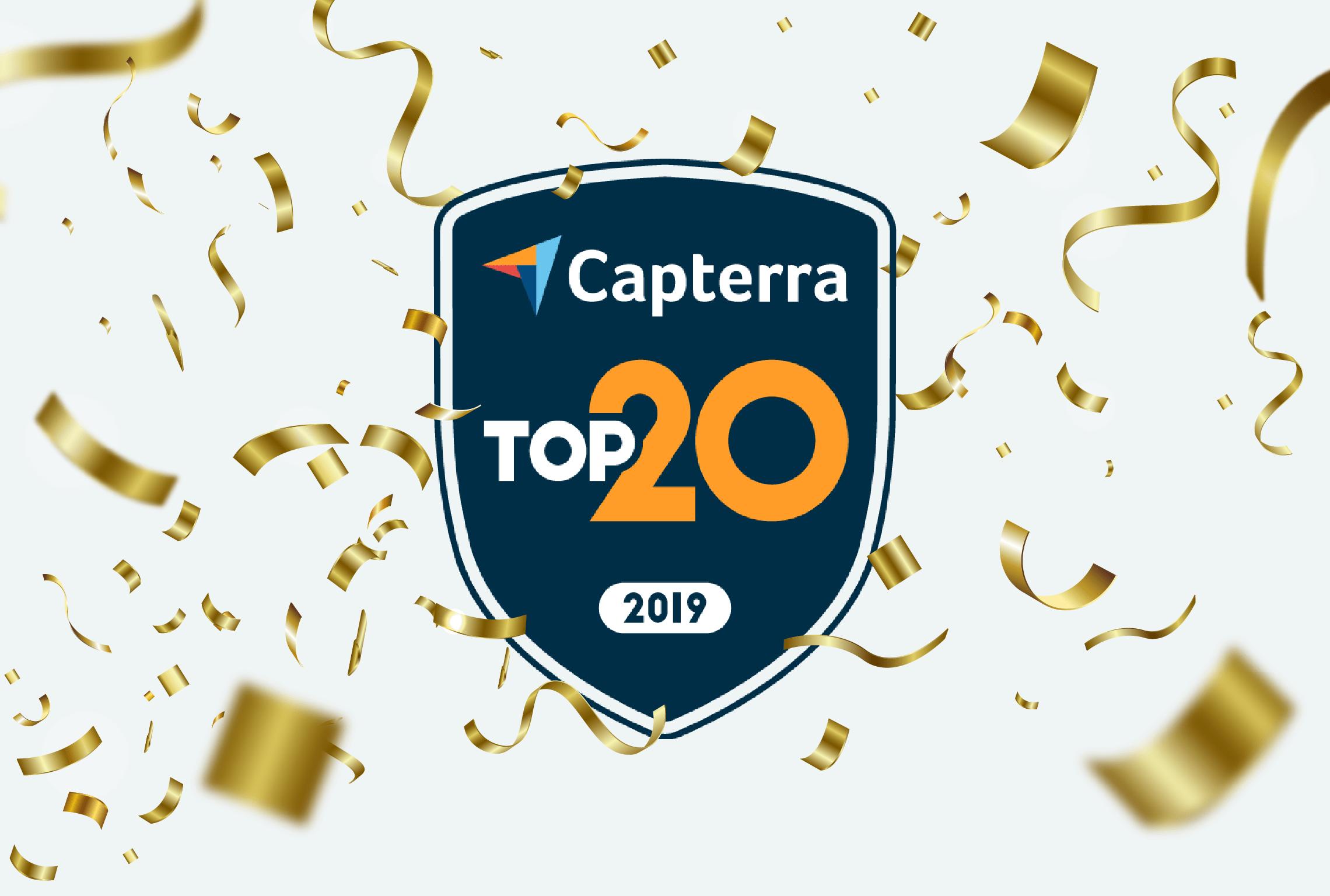 capterra top 20 crm report top 5 crms 2019