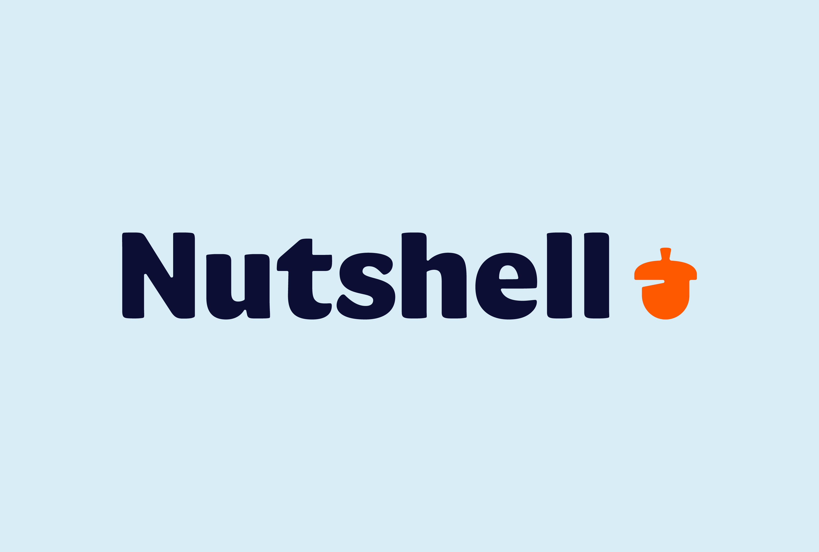 nutshell logo and wordmark focus lab