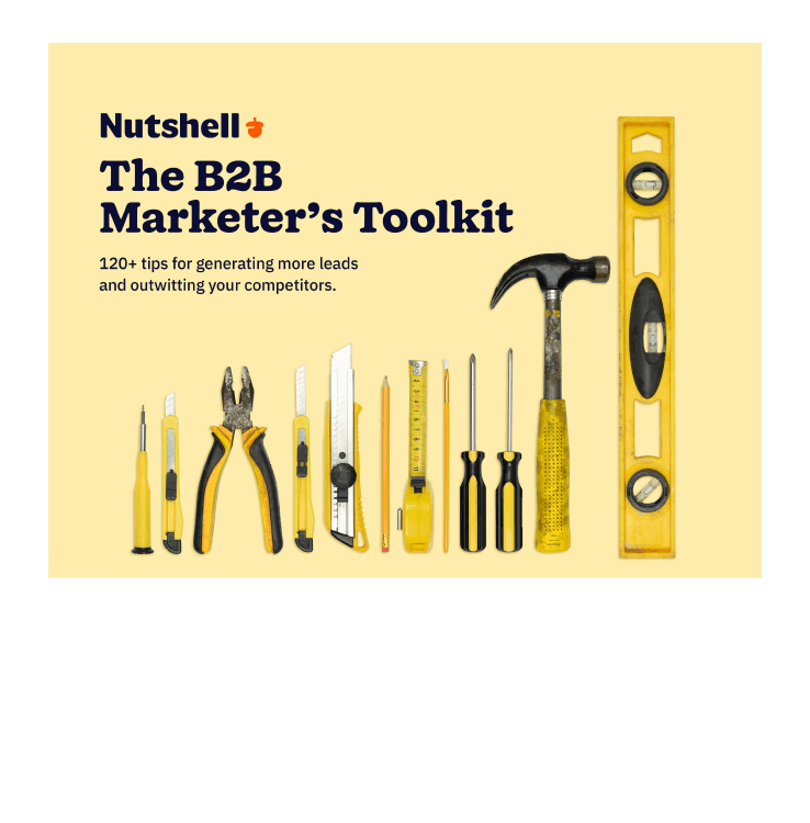 Nutshell Ad B2B Marketers Toolkit@2x 8 min