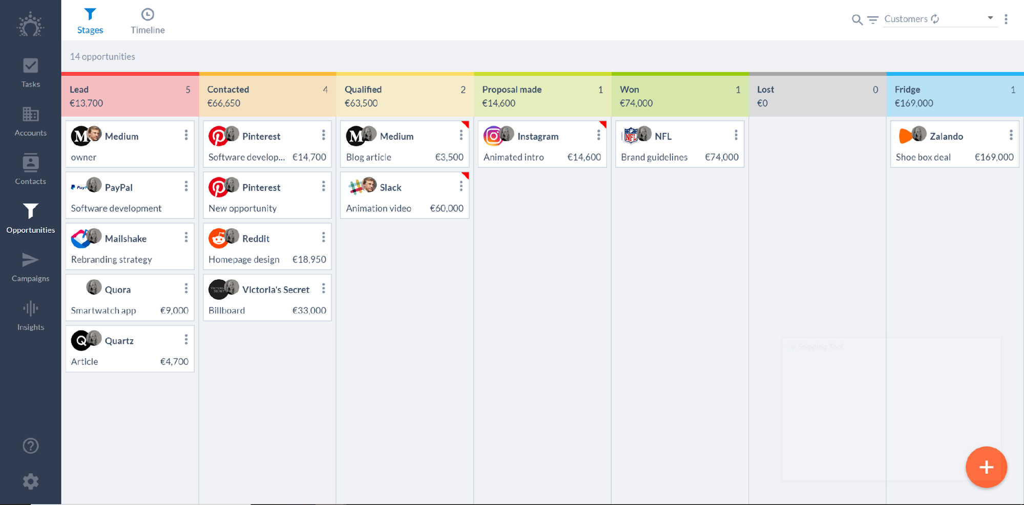 salesflare sales tracking crm